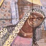 El Grito (The Cry) – right panel detail