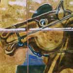 El Grito (The Cry) – left panel