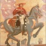 """El Chinaco, 67.5"""" x 60"""", 1982"""