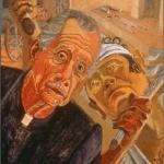 "Revolution, 18"" x 24"", 1991"