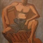 """Ruben, 50"""" x 37"""", 1992"""