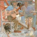 """La Paranda, 50"""" x 50"""", 1983"""