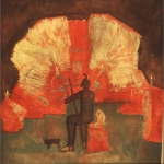 """The Place, 40.5"""" x 38.5"""", 1984"""