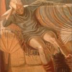 """A'Dagio Doloroso, 60"""" x 48"""", 1992"""