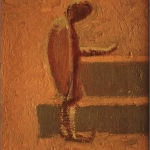 """The Letter, 12"""" x 9"""", 1987"""