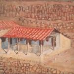 """El Buen Retirio, 20.5"""" x 30.5"""", 1988"""