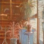 """Solarium, 24"""" x 20"""", 1991"""