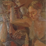 """The Family, 35"""" x 41.75"""", 1996"""