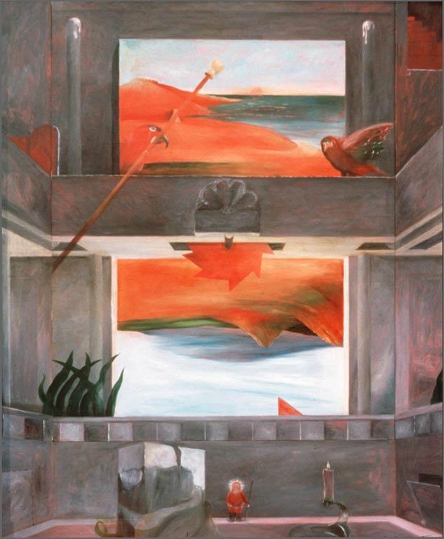 "Pipe Dream, 48""x60"" 1966"