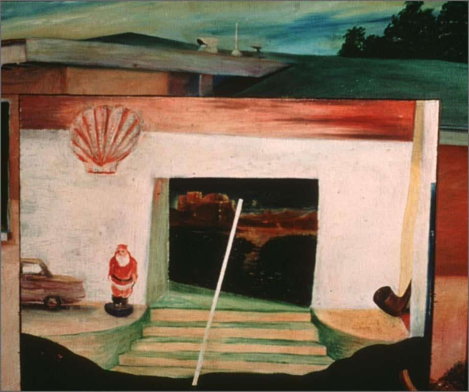 "Little Bethlehem, 23.25 ""x 28"" 1966"