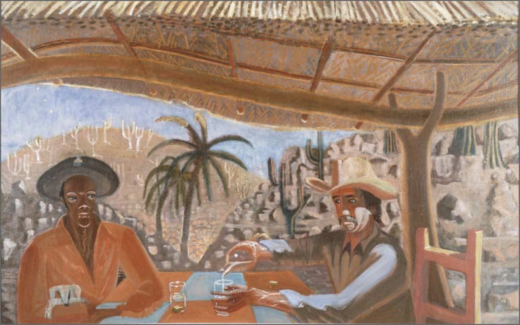 """La Otra, 45"""" x 72"""", 1984"""