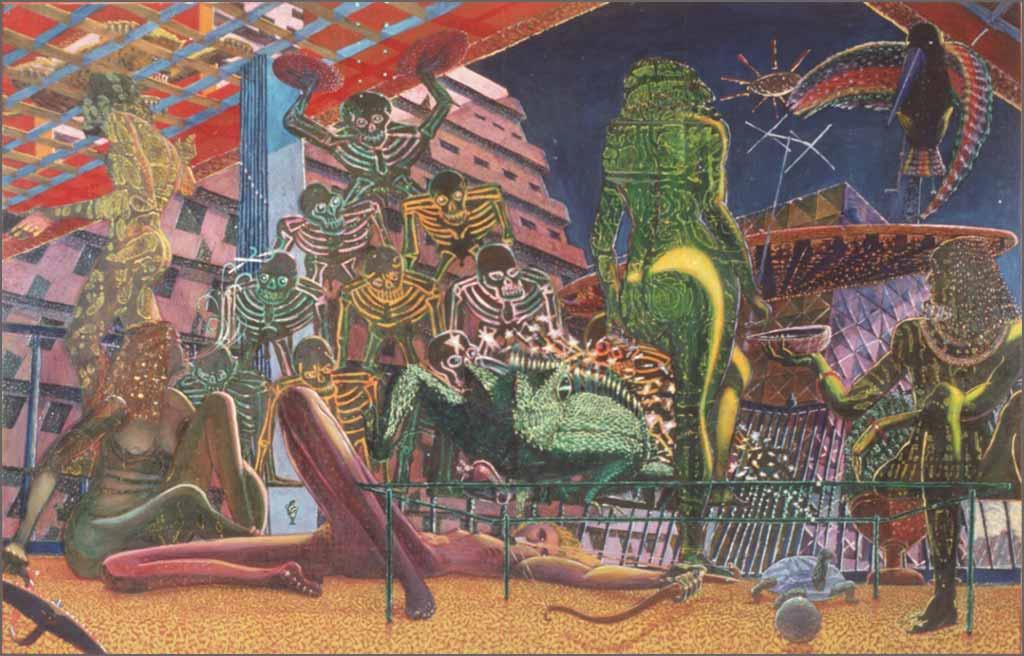 Los Tropicanas, 7' x 11', 1972-73