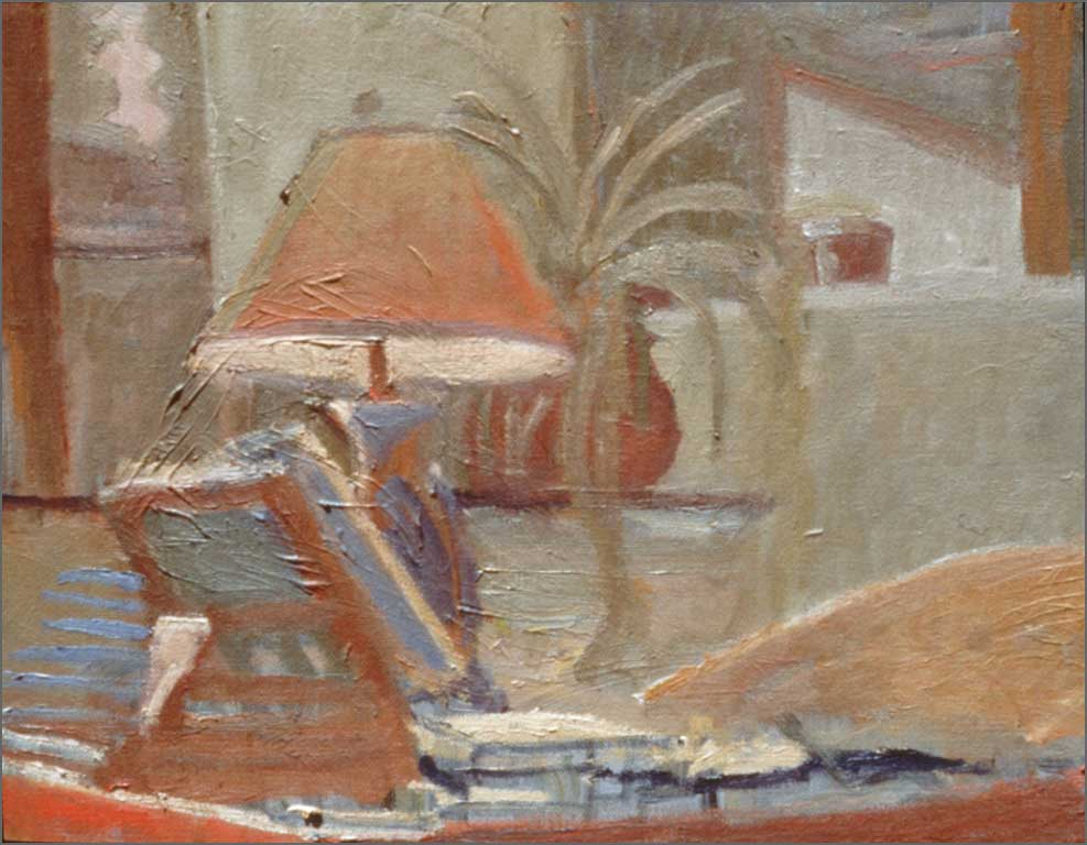 """Desk Light, 11"""" x 13.75"""", 1992"""