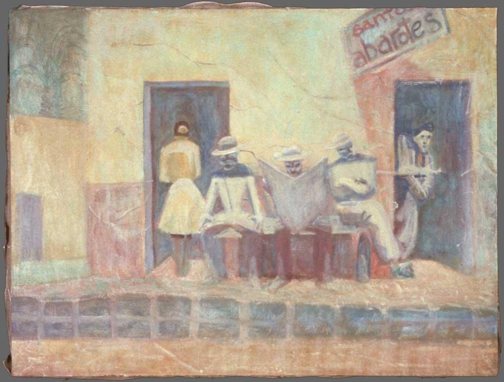 "Santos Abarotes, 24"" x 32"", 1987"
