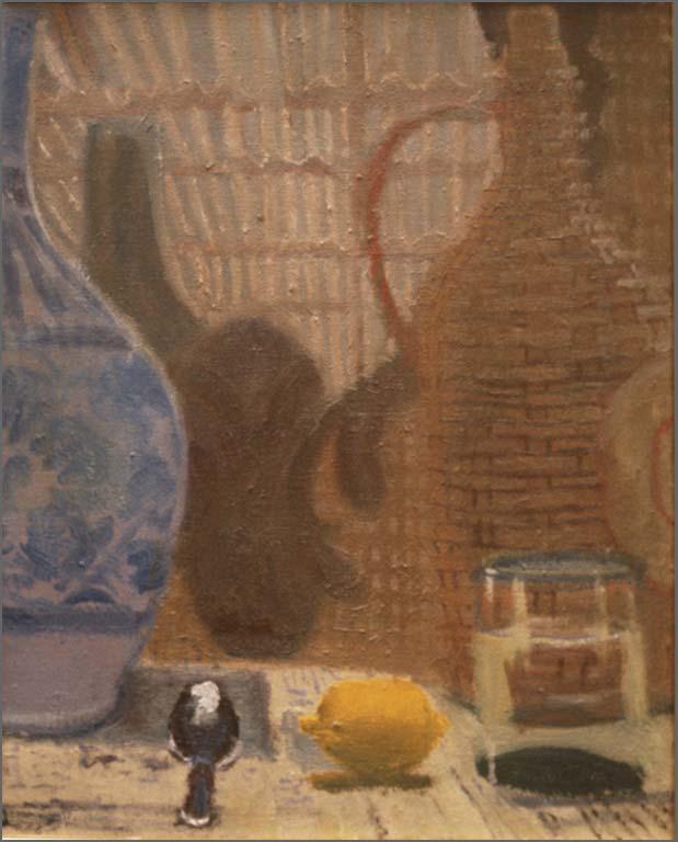 "Little Egypt, 20"" x 16.5"", 1991"