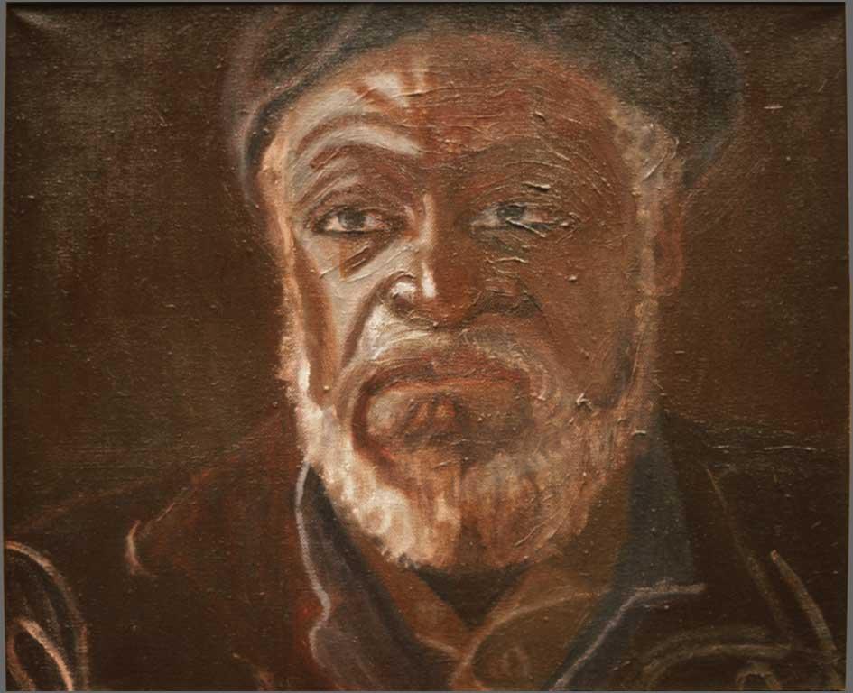 """Doyle, 15"""" x 18"""", 1992"""