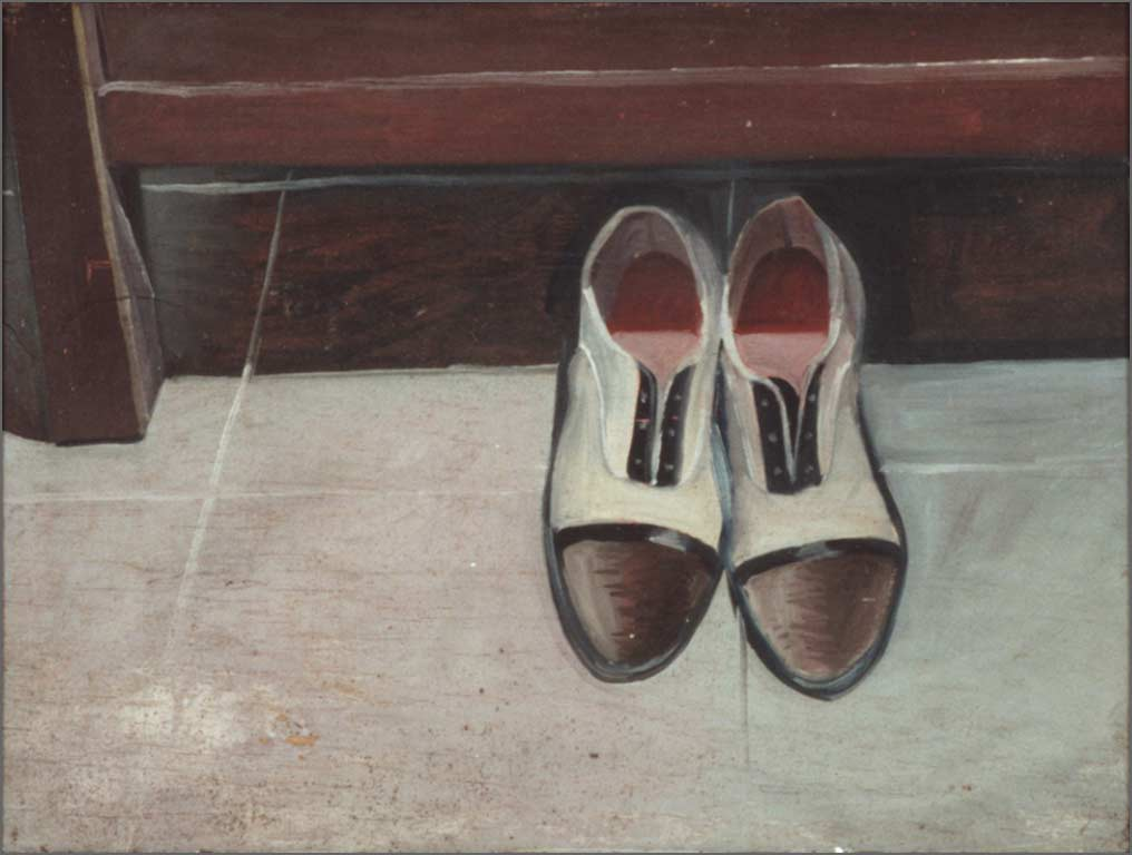 "Two Shoes, 17.5"" x 23.5"", 1960-65"
