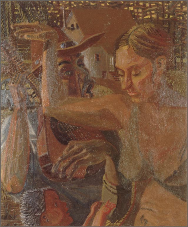 "The Family, 35"" x 41.75"", 1996"