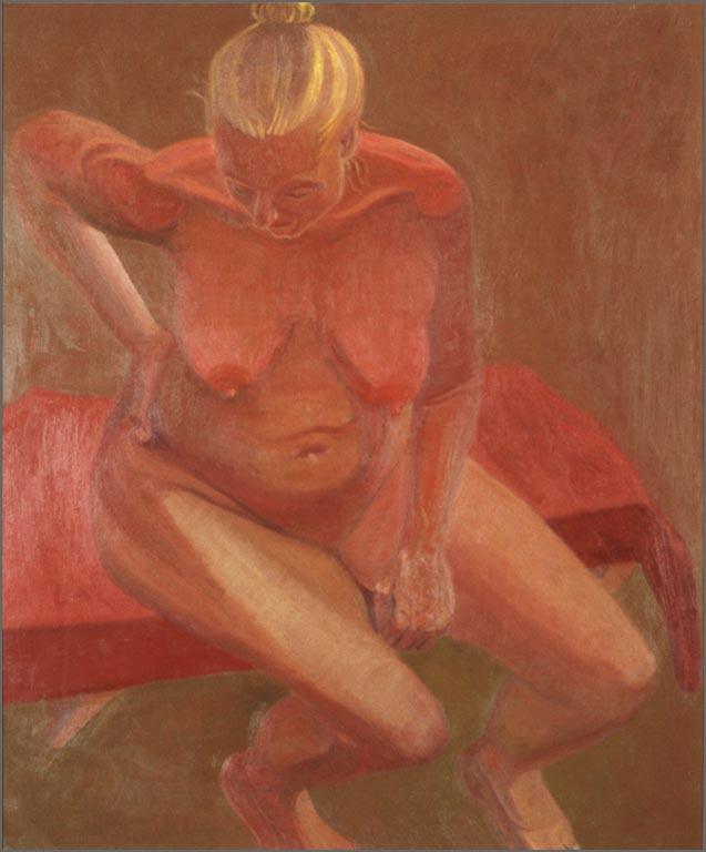 """Ego Death, 32.25"""" x 38.25"""", 1992"""