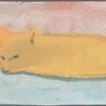 Orange cat, 1993