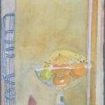 Walnut Street yellow fruitbowl, 1990