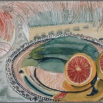 Still life with silver tray, 1990