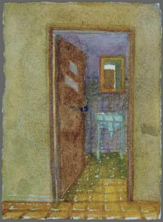 Walnut Street bathroom, 1989