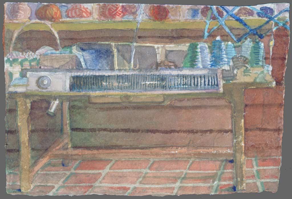 Knitting machine, 1992