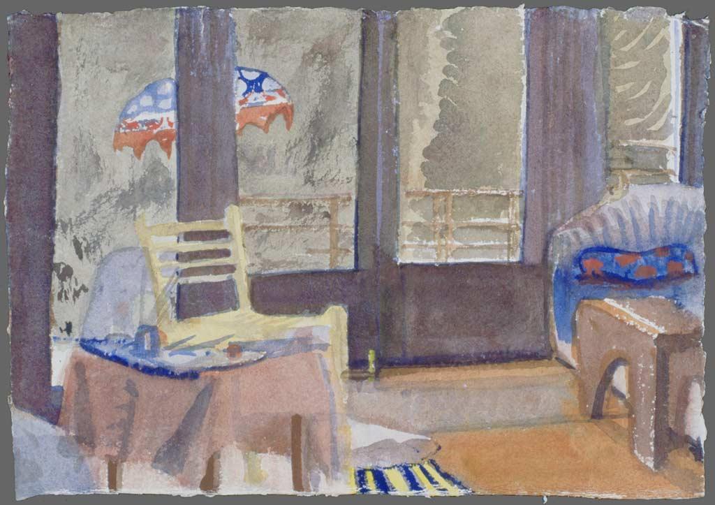 Redwood Drive living room, 1993