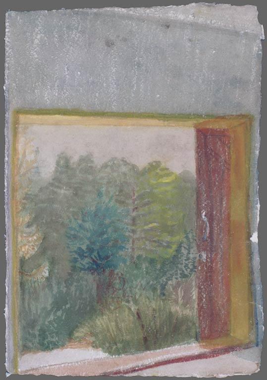 Redwood Drive studio door, 1994