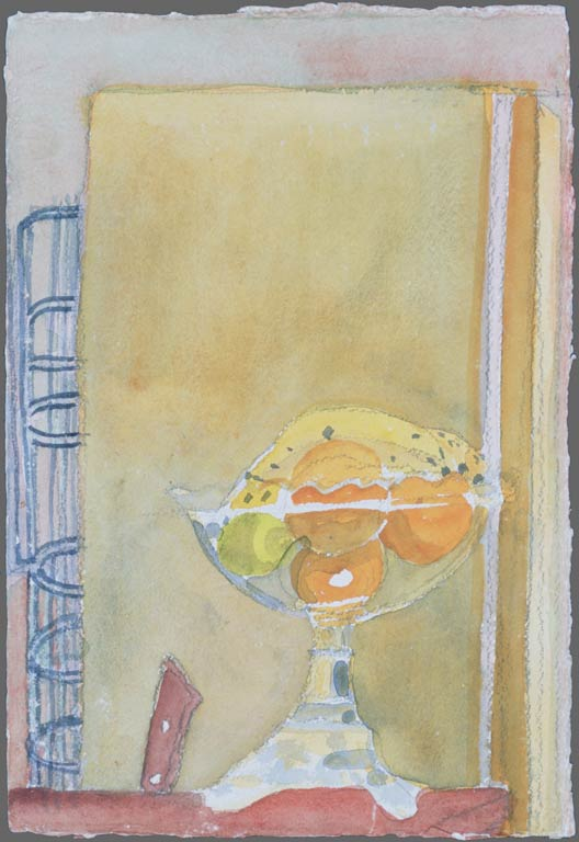 Walnut Street yellow fruitbowl, 1990