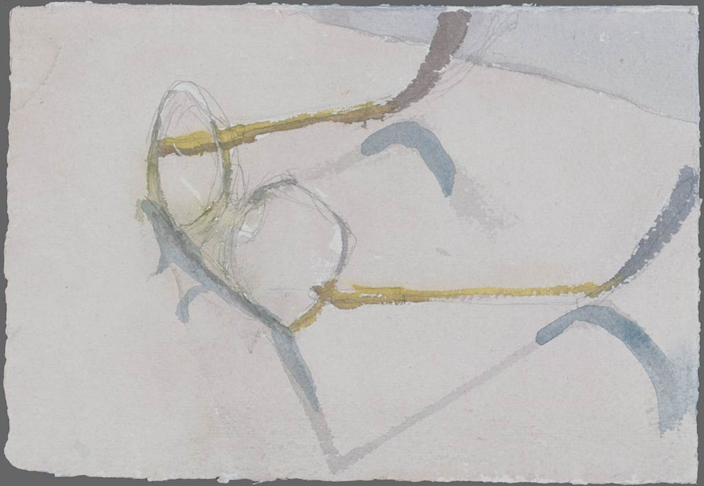 Glasses in grey, 1990