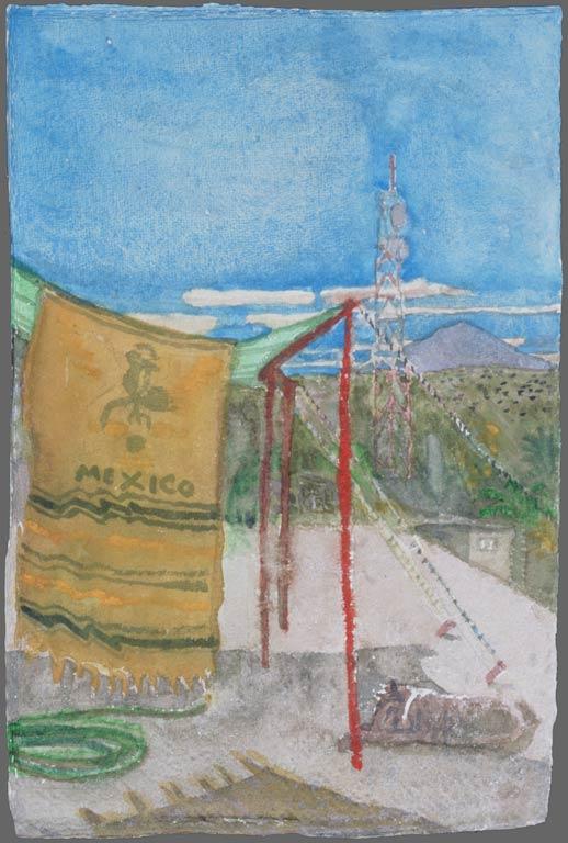 San Ignacio mexican blanket, 1990