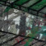 "The Labs Pier, 36"" x 36"", 2013<div id=""copy"">© Howard Kaneg</div>"