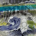 """Kealia 25"""" x 25"""", 2010. <div id=""""copy"""">© Howard Kaneg</div>"""