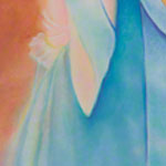 "<div id=""copy"">© Lorraine García-Nakata all rights reserved</div>Diptych: Facio Nova Omnia II: Colonia  (left side)<br />7' x 3' 9""  Pastel On Paper, 2005"