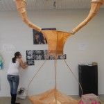 <strong>Giovanna Martinez</strong> Fallopian Chamber, metal sculpture