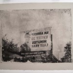 "<strong>Jeremy Rathjen</strong> Crime, 20"" x 26"", Photogravure"