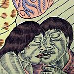 """Utamaro Lounge"", serigraph, 2010 <div id=""copy"">© José Lozano</div>"