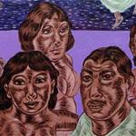 """""""El Mictlan"""", acrylic on canvas, 2012 <div id=""""copy"""">© José Lozano</div>"""