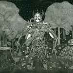 "<strong>Caetano Gil Santos</strong>  <em>Untitled</em>, 22"" x 30"" Intaglio etching with aquatint"