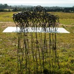 <strong>Jessica Levine</strong>   <em>Disconnect</em>, 2.5x4', steel