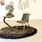 <strong>Kayla Kemper</strong>   <em>The anti-cubicle Nest</em>, 4'x5'x5', Office Furniture & Homegrown Moss