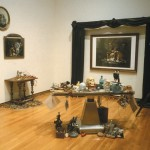 """Vanitas :Evidence, Ruin, and Regeneration"", installation, 1994<div id=""copy"">© Amalia Mesa-Bains</div>"