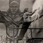 Painting Birth, Death & Regeneration Mural