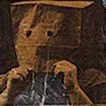 "<strong><em>Homeless Anonymous</em></strong>, mixed media, 22"" x  30""<div id=""copy"">© Jane Gregorius</div>"