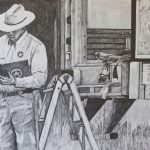 "<b>Victoria, Texas , May 13, 2003</b>, pencil on paper, 30""x44"", 2013"