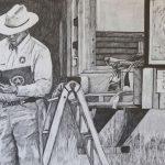 "<b>Victoria, Texas , May 13, 2003</b>, pencil on paper, 30""x44"", 2013"