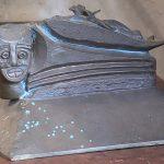 "Doyle Foreman: ""Baja Sonoma"", bronze sculpture, 1969"