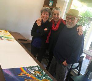 Carmen León, Betsy Andersen & Ralph D'Oliveira